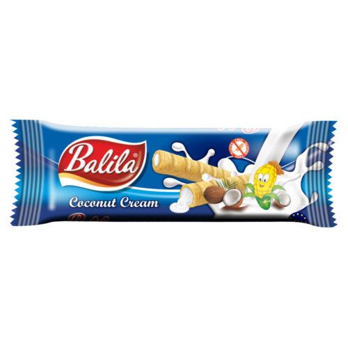 Balila Kukuričné trubičky - kokos 18g