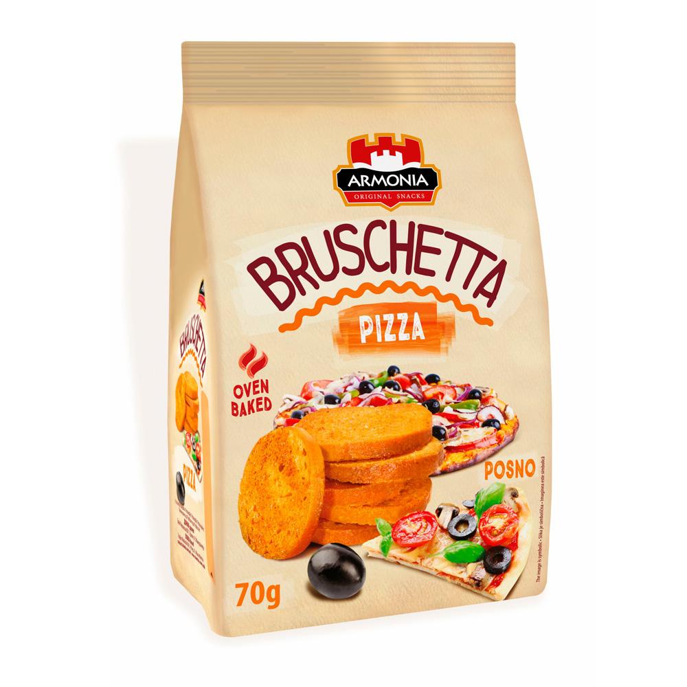 Bruschetta s príchuťou pizza 70g