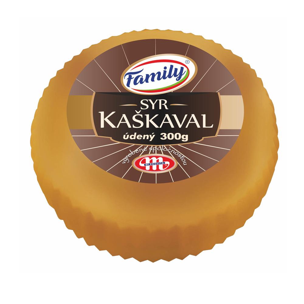 Family Syr KAŠKAVAL parený, údený 300g