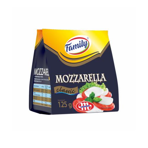 Family MOZZARELLA syr Classic 125g