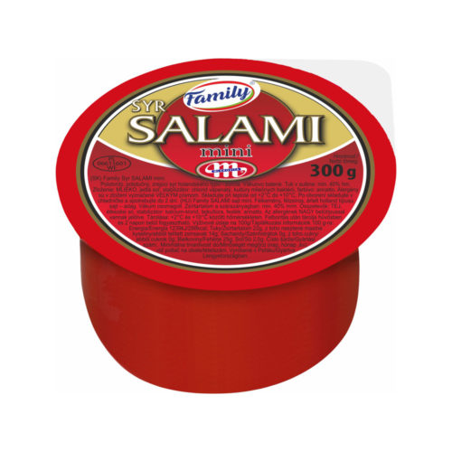 Family Syr SALAMI mini 300g