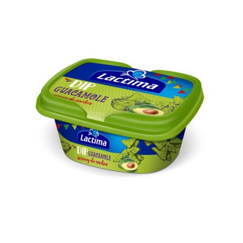 Lactima Tavený syr Guacamole dip 150g