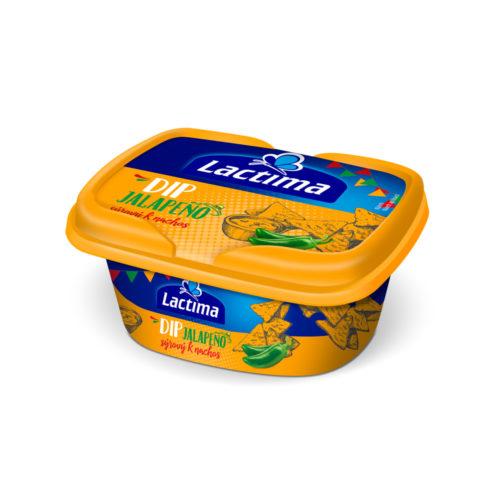 Lactima Tavený syr Jalapeno dip 150g
