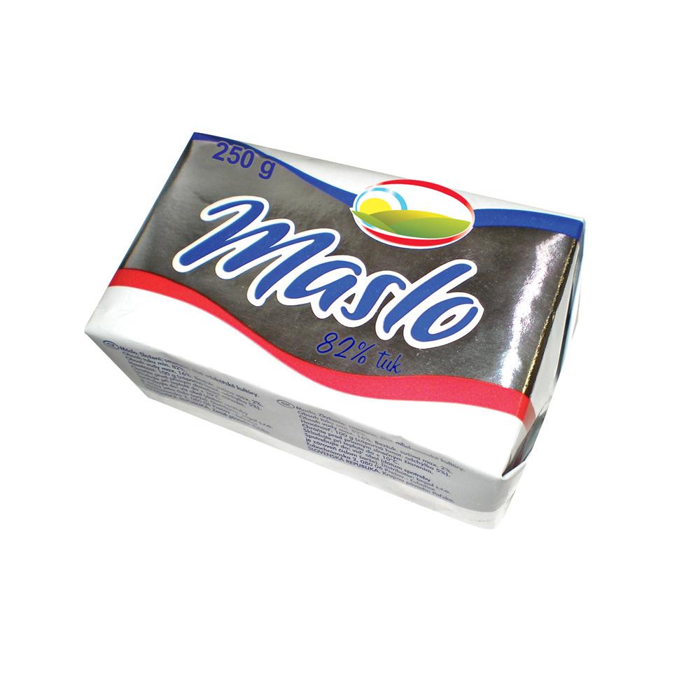 Maslo Tradičné 82% 250g