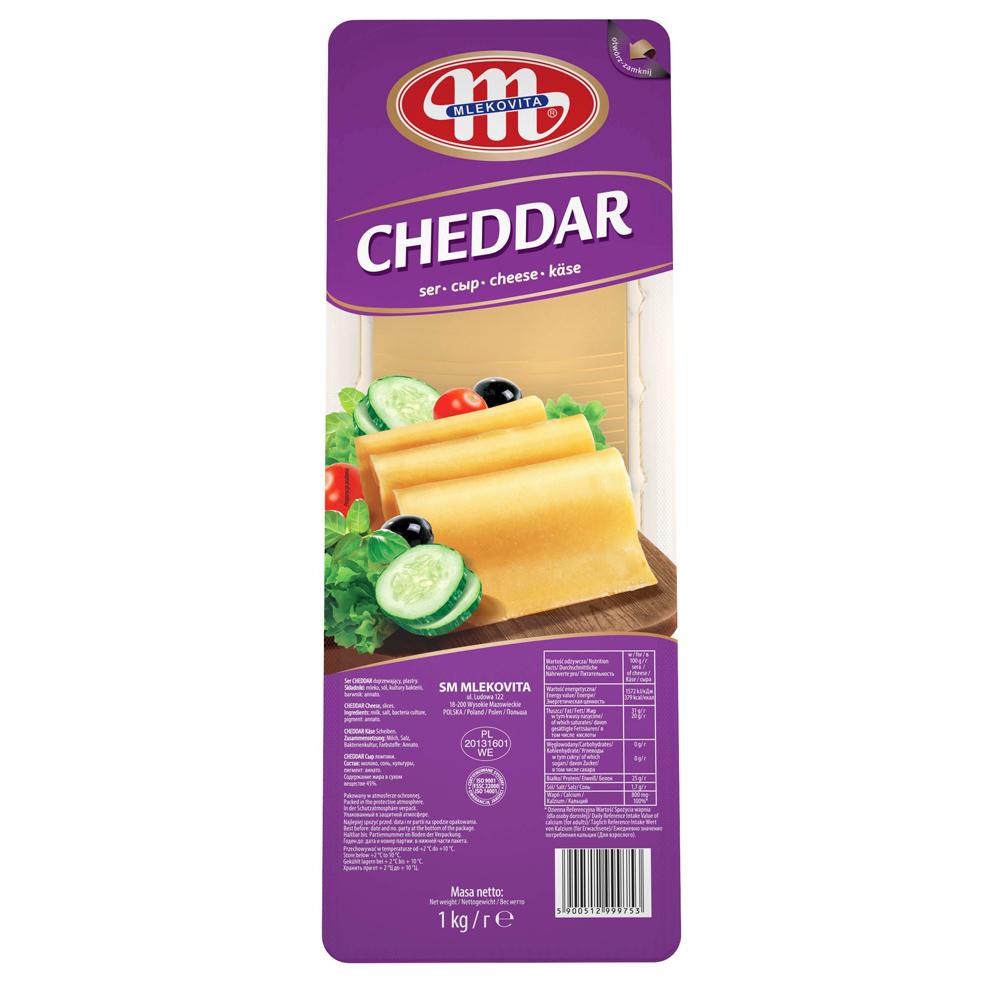 Cheddar plátky 1kg