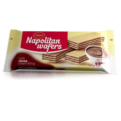 Napolitan wafers kakao 160g