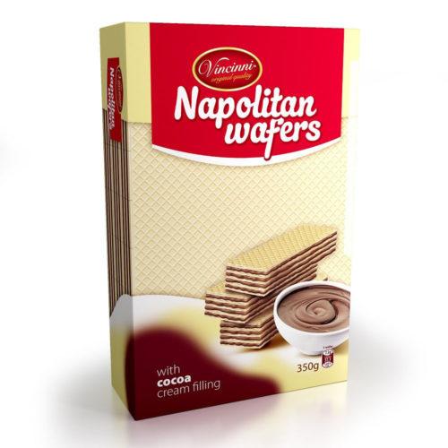 Napolitan wafers kakao 350g