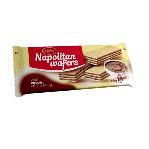 Napolitan wafers kakao 60g