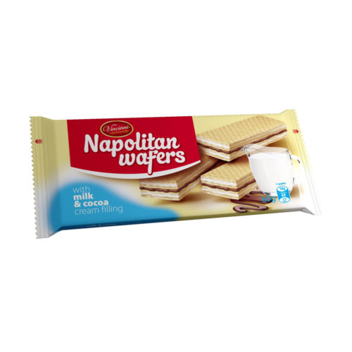 Napolitan wafers mliečno-kakaové 60g