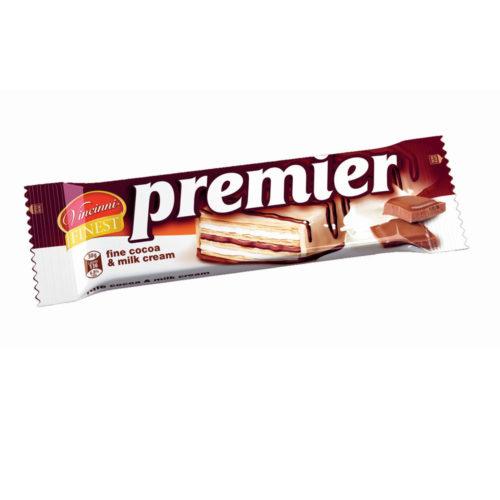 Premier oblátky mliečno-kakaové 30g